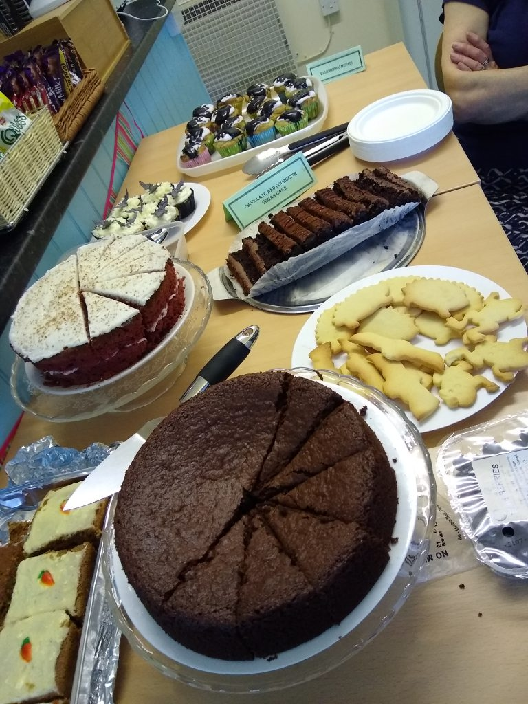 Cakes for the bat walk event