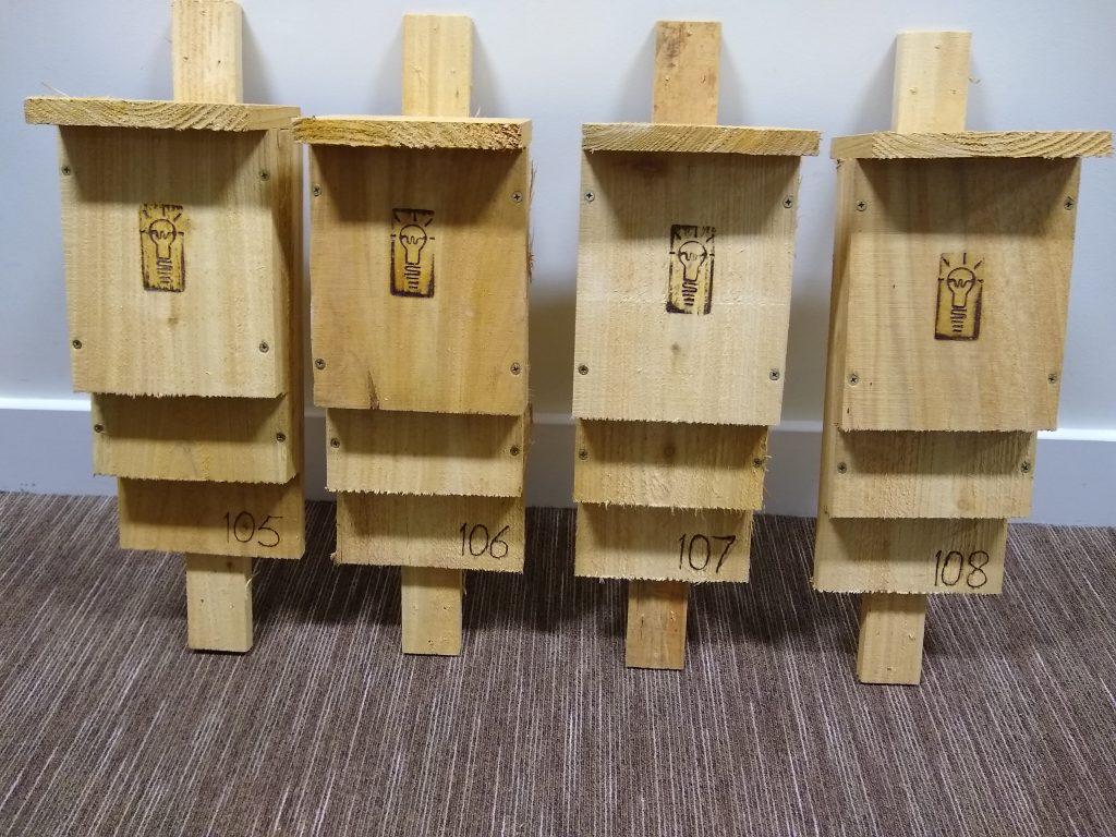 Ready assembled bat boxes